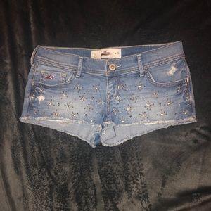 Size 3 Hollister Denim Shorts